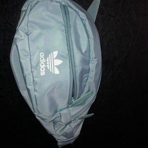 New Light blue Adidas fanny pack